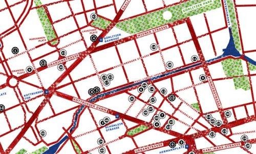 Tek-Stil-StadtplanNeukölln/Kreuzberg