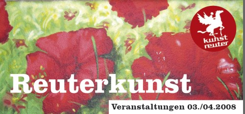Reuterkunst-Flyer