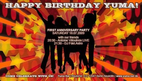 Yuma_Bar-Flyer_Geburtstag